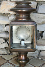 ancienne lampe tempête ou ( phare oto lanterne déposé paris )