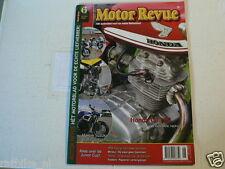 MOTOR REVUE 2008-06 POSTER YAMAHA MT-OS,HONDA CB100,KÖNIG RACERS,HESKETH V1000,