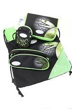 Sammies by Samsonite 4er-Set: 2 x Federmappe+Sportbeutel+Geldbeutel Green Snake