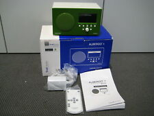 Tivoli Audio Albergo + grün NEU (Aussteller) UKW / DAB+ Radio mit Bluetooth + FB
