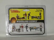 Woodland Scenics Scenic Accents Park Bums #A1916 HO Scale