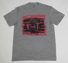 NUEVO All Star Converse Camiseta Camisa Para Hombres Chucks GRIS T. M 18 #231