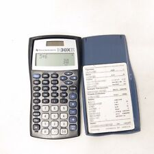 Texas Instruments TI-30X IIS 2-Line Scientific Calculator w/ Cover & Guide