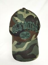 Mississippi State University Ole Miss Rebels Camouflage Baseball Cap Hat