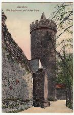 AK BEESKOW 1912 Alte Stadtmauer und dicker Turm   ( 3150