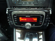 SONY MP3 SINGLE CD/RADIO STEREO FOR FORD MONDEO MK4 S-MAX  GALAXY