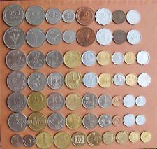 Complete Israel Coins Set Lira, Pruta, Old & New Sheqel - Lot of 31 Coins