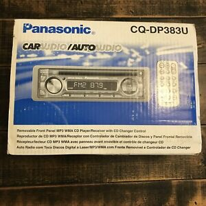 Panasonic CQ-DP383U CD Player In Dash Receiver MP3 New Old Stock NOS Remote