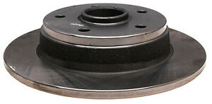 Disc Brake Rotor and Hub Assembly-Non-Coated Rear ACDelco Advantage 18A293A