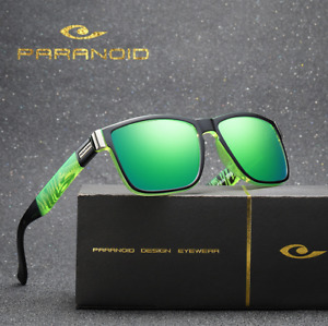 Men's Polarized Sunglasses Outdoor Sport Driving Fishing Riding Square Glasses
