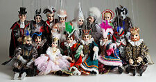 Fairy Tale Collection of Marionettes - Czech Handmade String Puppets