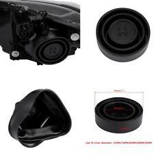 2Pcs Black Rubber Housing Seal Cap Dust Cover for Car LED Headlight HID Halogen