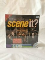 The Twilight Saga - Scene It? Deluxe DVD Edition Family Board Game NEW & SEALED