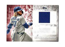2020 Topps Major League Material  VLADIMIR GUERRERO JR Game-Used Relic BLUE JAYS