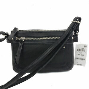 Inc Riverton Mini Crossbody Small Black Handbag Purse, new