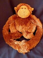 "Animal Alley MONKEY 22"" Brown Plush Soft Toy Long Arm Stuffed Hanging Hugger"