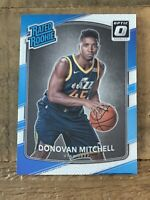 2017-18 DONOVAN MITCHELL PANINI OPTIC #188 RATED ROOKIE RC BASE JAZZ📈INVEST