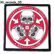 30 SECONDS TO MARS  Patch  4x4 inche (10x10 cm) new