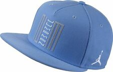 Nike Air Jordan Retro 11 XI Snapback Hat NEW Carolina Blue White Jumpman UNC Fly