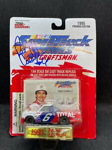 Rick Carelli Autograph Racing Champions Super Truck Series 1:64 NIP 1995 NASCAR