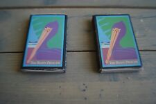 Vintage The Rusty Pelican Seafood Restaurant Matchbox Lot of 2 Blue Matches