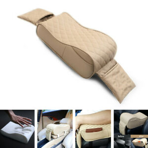 Universal Car Memory Foam Center Box Armrest Console Pad Cushion Cover For Rest
