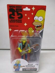 Neca The Simpsons 25 of the Greatest Guest Stars Brad Whitford Aerosmith