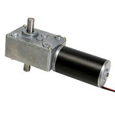 12V 160rpm Reduction Motor Worm Gear Double Shaft DC Motor Cear-box Motor