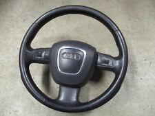 S-Line Lederlenkrad Multifunktion Audi Q7 4L Lenkrad LEDER schwarz 4F0419091AQ