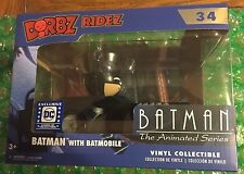 Funko Dorbz Ridez Batman with Batmobile DC Legion of Collectors Animated Series
