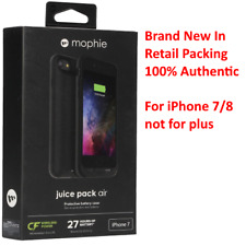 mophie Juice Pack Air 2525mAh Battery Charge Case for iPhone 8 & iPhone 7, Black