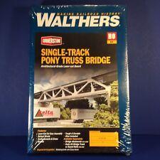 Walthers Cornerstone Single Track Pony Truss Bridge Ho Scale Train Kit 933-4030