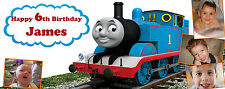 Thomas the Tank Engine   PERSONALISED PARTY BANNER Birthday, Christening -