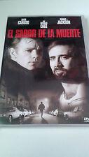 """DVD """"EL SABOR DE LA MUERTE"""" COMO NUEVA BARBET SCHROEDER NICOLAS CAGE SAMUEL JACK"""