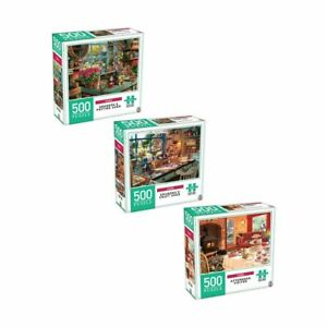 500 Piece Home Puzzle Set - Assorted Kids Toys Activity Games Home Decor 2020 S1