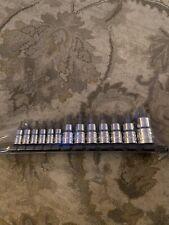 13pc Proto Blackhawk Professional Star Torx Bit Socket Set T8-T60 Hw-9513T