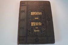 Psalter und Harfe von Spitta Bremen 1887 94