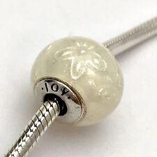 Authentic Pandora Essence Joy Sterling Silver White Enamel Charm 796087EN140 New