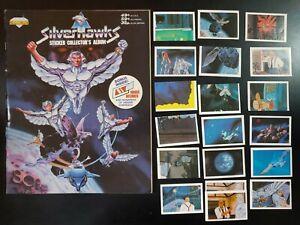 SILVERHAWKS, Stickers Collector's Album (1987 Diamond Telpix Corp) GD Book