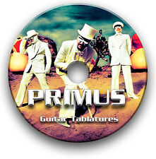 PRIMUS ROCK GUITAR TAB TABLATURE SONG BOOK ANTHOLOGY SOFTWARE LIBRARY CD