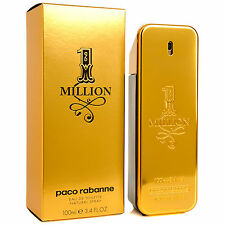 PACO RABANNE 1 MILLION EDT Mens Fragrance HOMME Perfume Brand New & Sealed 100ml