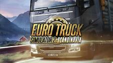 EURO TRUCK SIMULATOR 2 - Scandinavia [DLC] STEAM DOWNLOAD KEY - FAST DELIVERY