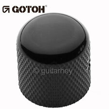 NEW (1) Gotoh VK1-18 - Control Knob - DOME - Bass, Guitar - METAL - BLACK