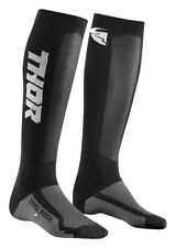 Thor MX Motocross Men's MX Cool Socks (Black/Charcoal) Choose Size