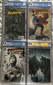 DC Comics collection by JIM LEE CGC