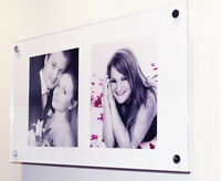 "Cheshire Acrylic multi 10 x 8 "" / 8 x 10 ""  picture photo frame pixi All colors"