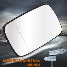 1x Auto Car Door Wing Mirror Glass Heated Lens For BMW E46 98-06 E39 97-03 Sedan