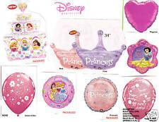 Disney Princess Balloons 8-pc Princess Mylar Balloon Kit-