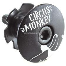 New Circus Monkey Headset Stem Top Cap Bolt 1-1/8 Road Mtb Black