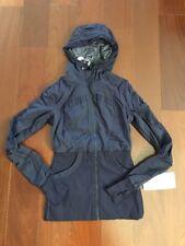 Lululemon Dance Studio Jacket III - Black swan- Size 6 NWT